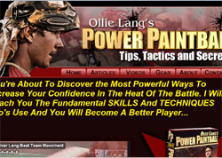 Power Paintball: Tips, Tactics and Secrets