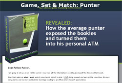 Game, Set & Match: Punter