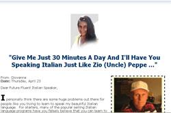 Learning Italian Like Crazy!