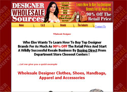 Designer Wholesale Sources