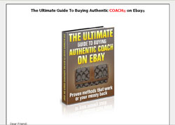 The Ultimate Guide to Buying Authentic Coach on Ebay