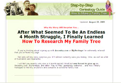 How To Complete A Familiy Tree: Companion To 6-Generation Family Tree