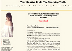 Your Russian Bride - The Shocking Truth