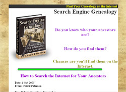 Search Engine Genealogy