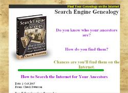 Search Engine Genealogy