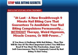 Stop Nail Biting Secrets