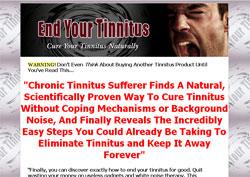 End Your Tinnitus