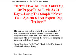 How To Train Your Dog In Just 21 Days!