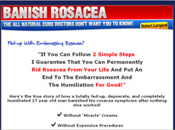 Banish Rosacea: The All-Natural 2-Step Approach that Directly Targets, Fights, and Banishes Rosacea