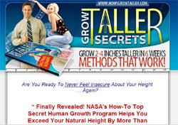 How I Grow Taller Secrets