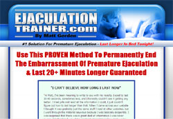 The Ejaculation Trainer: The Only Way To Permanently Cure Premature Ejaculation