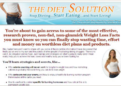 The Diet Solution: Start Eating and Start Living