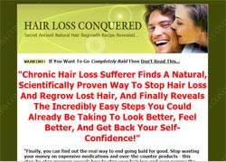 Hair Loss Conquered