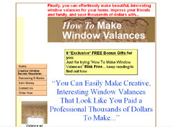 How To Make Window Valances-A Simple Step-by-step Illustrated Guide To The Window Valances You Want