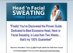 Head 'n Facial Sweating Be Gone