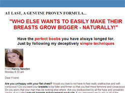 How I Made My Breasts Grow Bigger Naturally