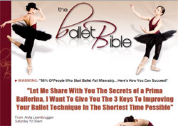 The Ballet Bible: The 3 Simple Rules of a Prima Ballerina