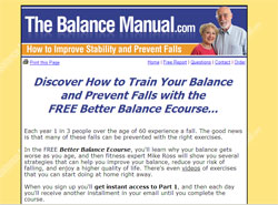 The Balance Manual: How to Improve Stability and Prevent Falls with Simple Exercises