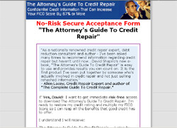 The Attorney's Guide To Credit Repair