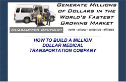 How To Build A Million Dollar Medical Transportation Company