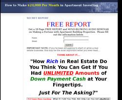 Apartment Building Cash Flow System