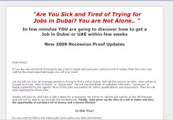 Dubai Job Secrets