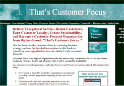 That's Customer Focus!
