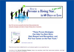 How to Become a Rising Star in 60 Days or Less