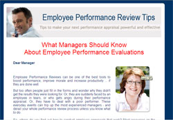 Employee Performance Review: Tips, Templates and Tactics