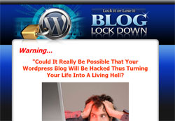 Blog Lock Down: Lock it or Lose it