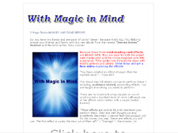With Magic in Mind