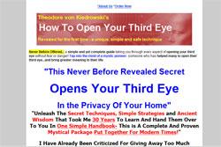 Open Your Third Eye