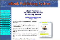 How to Create Wealth Publishing eBooks