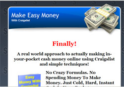 Easy Money With Craigslist: A real world, simple way to use Craigslist to put instant cash in your p