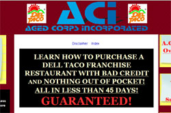Franchise Dell Taco Restaurant: 100% Financing Bad Credit In 45 Days!