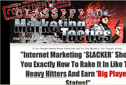 Classified Marketing Tactics