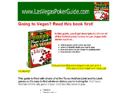 The Poker Player's Guide To Las Vegas