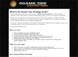 OGame Tips Strategy Guide