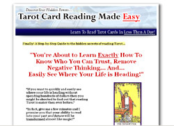 Tarot Cards  Reading Made Easy
