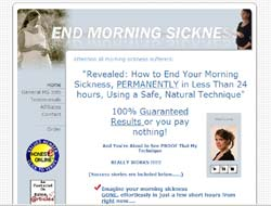 End Morning Sickness