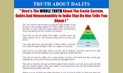 Truth About Dalits: Caste System And Untouchability