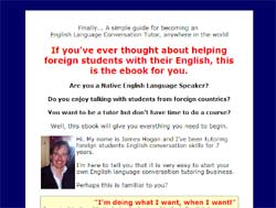Become an English Language Conversation Tutor: For Tutoring 18+ Adult Intermediate and Advanced Stud