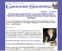 Save Thousands Grocery Shopping