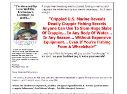 The Instant Crappie Catching Tricks E-Kit