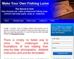 Make Your Own Fishing Lures: Wooden Lures