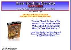 Deer Hunting Secrets Exposed