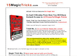 15 Magic Tricks