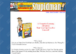 The Internet Adventures of Stupidman