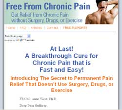 Free From Chronic Pain