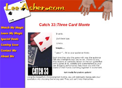 Secrets Of Three Card Monte From A Pro